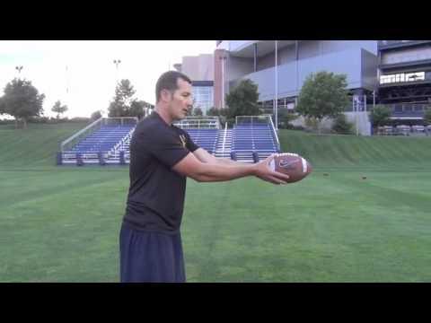 Punt Grip and Football Handling - TheKickingCoach.com