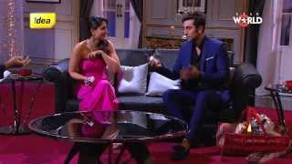 Repeat youtube video Rapid Fire Round with Kareena and Ranbir Kapoor!