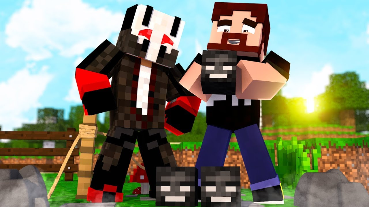 Gronkh Und Seine Witherschädel AFTER HUMANS Minecraft - Minecraft hauser gronkh