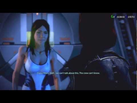 Mass Effect 3 - Female Shepard Romance Diana Allers