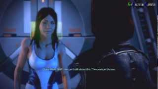 Repeat youtube video Mass Effect 3 - Female Shepard Romance Diana Allers