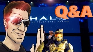 The Act man, Halo TV series and more! | Halo Q&A