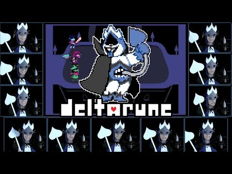 DELTARUNE - Chaos King - Acapella Cover (King Boss Theme)