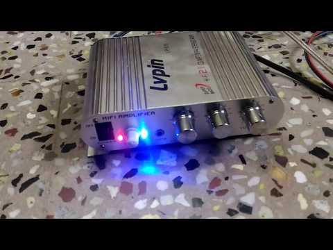 Lvpin LP-838 amplifier 12V Super Bass Mini Hi-Fi Stereo Amplifier Booster from banggood