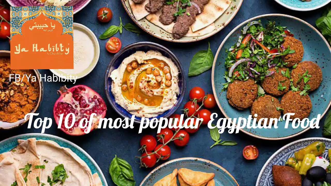 Top 10 Egyptian Food Youtube
