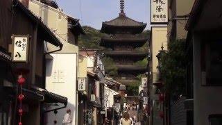 4K Higashiyama Gion walk in Kyoto♬もののけ姫。東山、祇園そぞろ歩き。