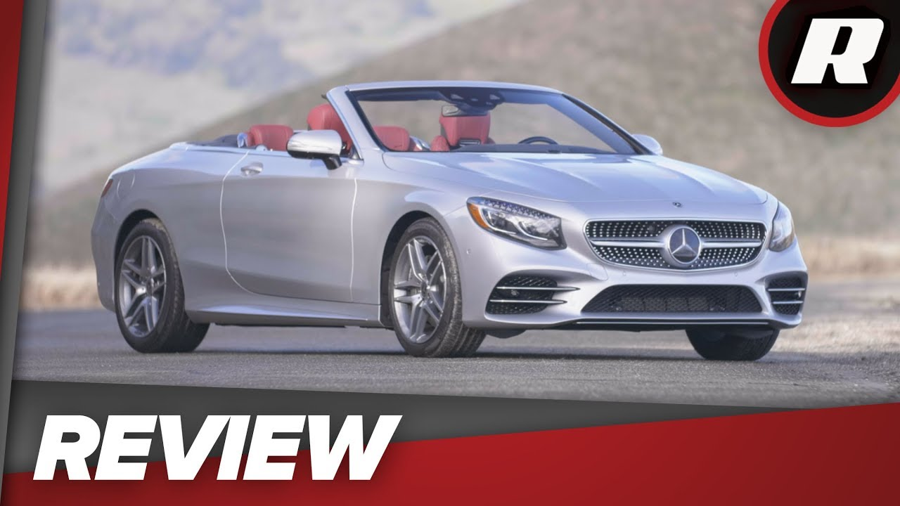 All luxury, all the time in the 2018 Mercedes-Benz S560 Cabriolet