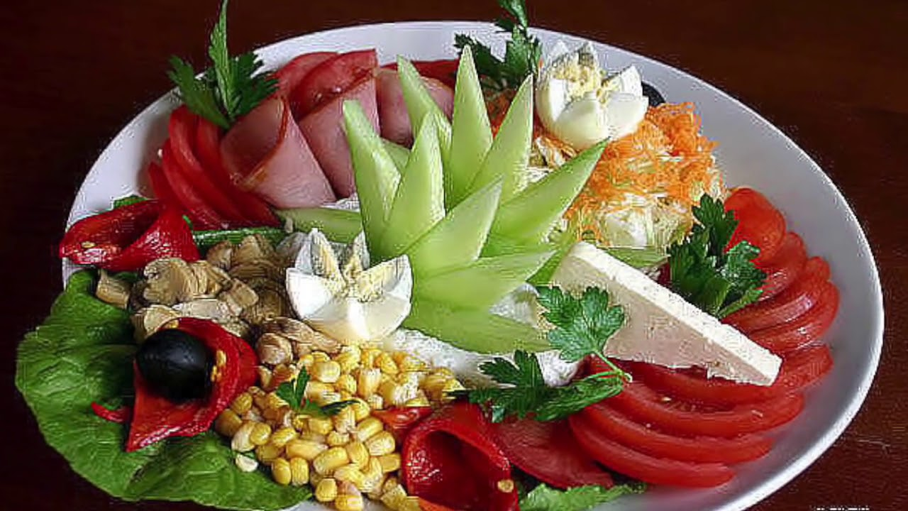 время обучения как оформить салаты и блюда с фото советам ниже порядку