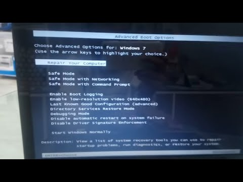 How To Factory Reset Toshiba Laptop Windows 7