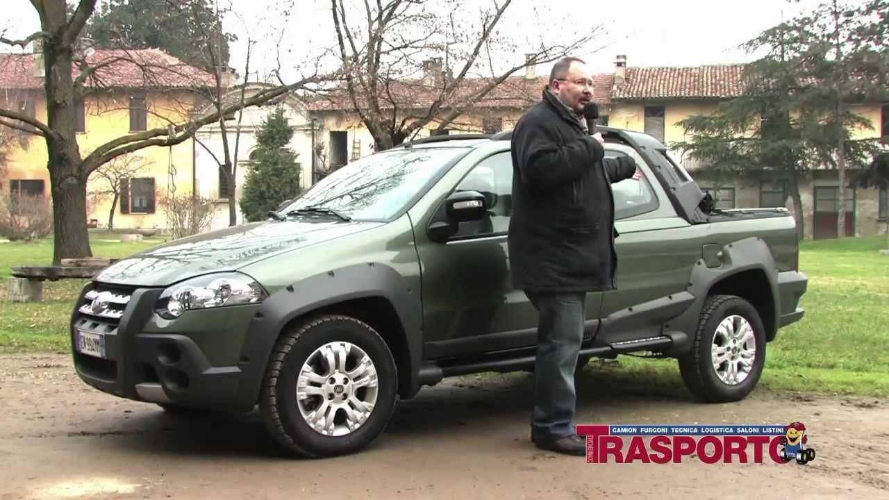 Il Nuovo Pick Up Fiat Che Arriva Dal Brasile Youtube