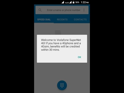Free Unlimitied 4G Internet 2 Hours For Vodafone Users Daily With Proof (Offer Expire)