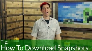 How To Download Snapshots in Minecraft