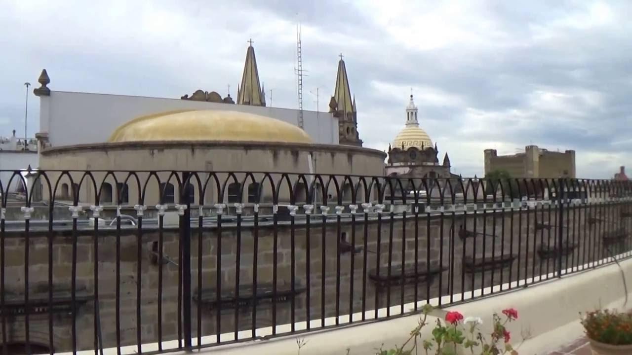 Hotel Frances En Guadalajara Interior Terraza Y Mirador