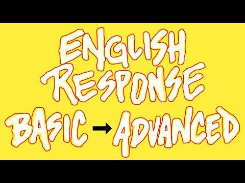 How To Go From A Basic To An Advanced Response In English