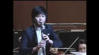 Han Kim plays Weber Clarinet Concerto No.2 op.74 - 1st movement