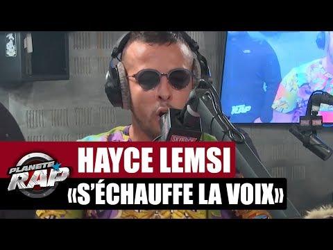 Freestyle 'Quand Hayce Lemsi s'échauffe la voix' #PlanèteRap