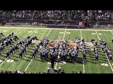Ohio University Marching 110 - Love Rollercoaster - Ohio Players - HD