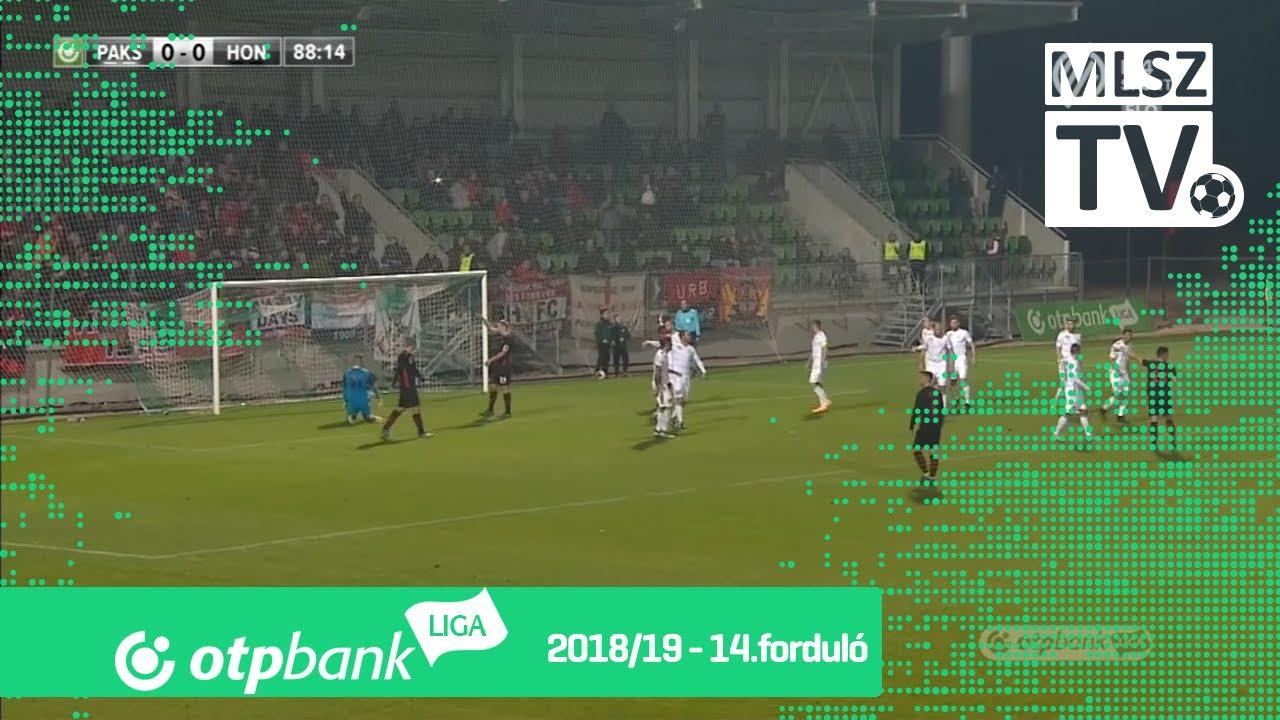 Paksi FC - Budapest Honvéd | 0-0 (0-0) | OTP Bank Liga | 14. forduló | 2018/2019