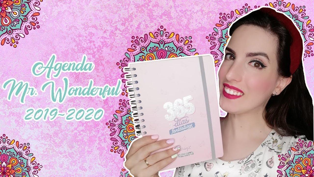 Calendario Mr Wonderful 2020.Las Agendas Mr Wonderful