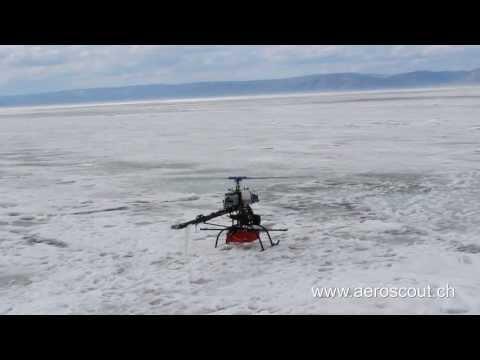 Laser scanning mission in siberia