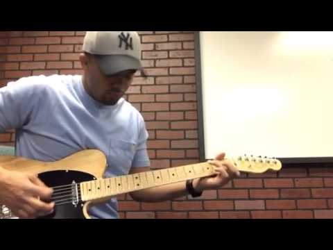 Little Wing (Corey Thomas) cover