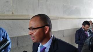 TigerNet.com - Clemson OC Tony Elliott at the U.S. Capitol