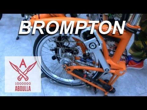 Складной велосипед Brompton