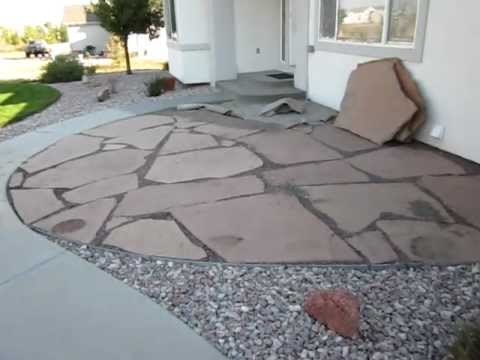 Installing A Flagstone Patio How To Install A Flagstone