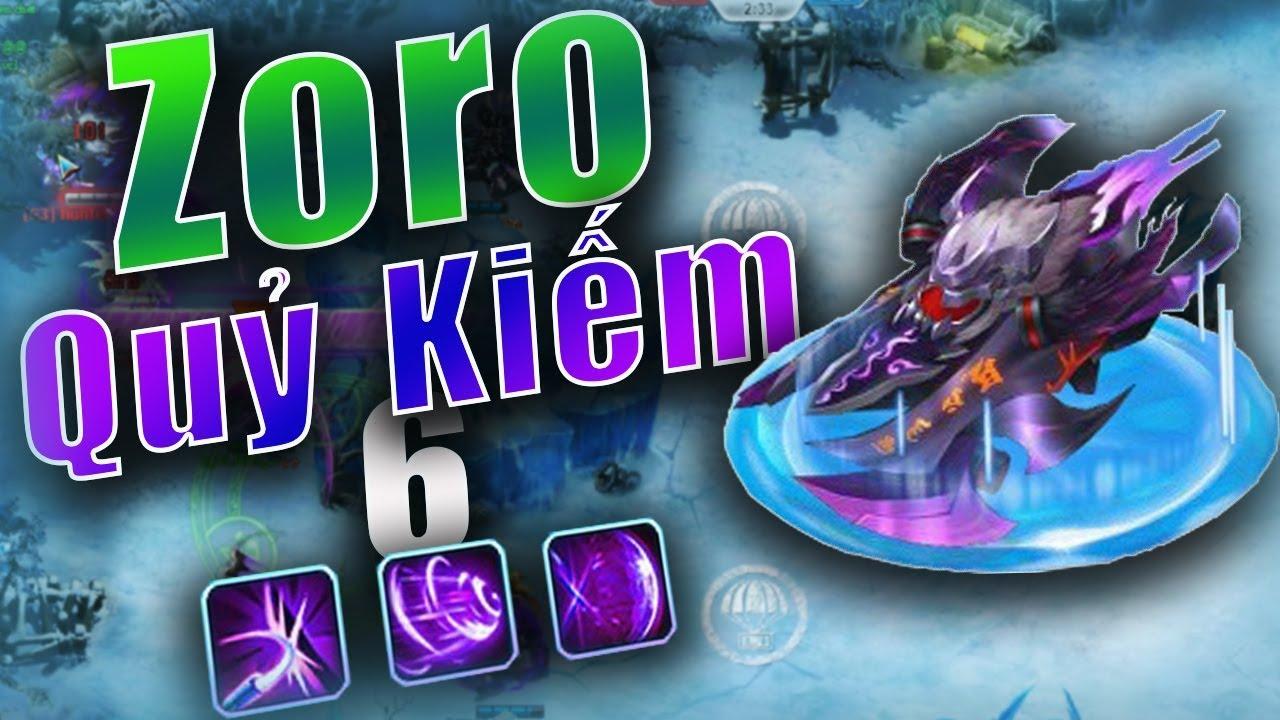 Bang Bang trên zing me – Zoro Quỷ Kiếm Lv6