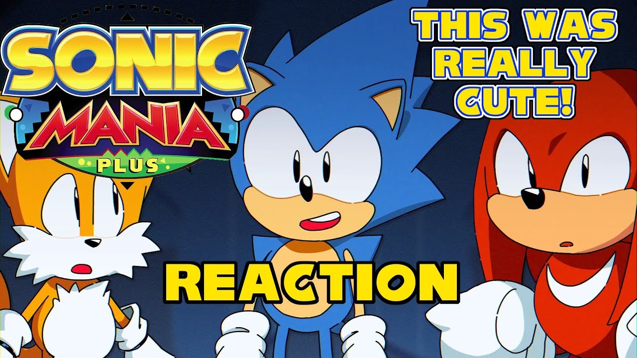 Earlier Than I Thought! - Sonic Mania Plus Trailer (Reaction)