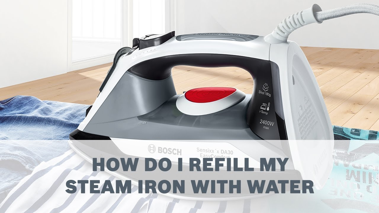 Cleaning rowenta pressure iron and steamer - How Do I Refill My Steam Iron With Water Cleaning Care