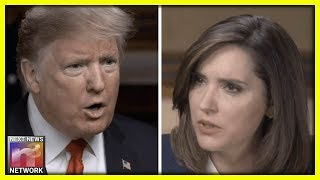 Trump Makes Reporter REGRET Interviewing Him, then She LOSES IT!