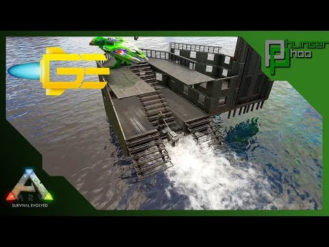 Ark GES4 - 39 - SPEED BOAT BUILD - TAMING PEN YACHT!