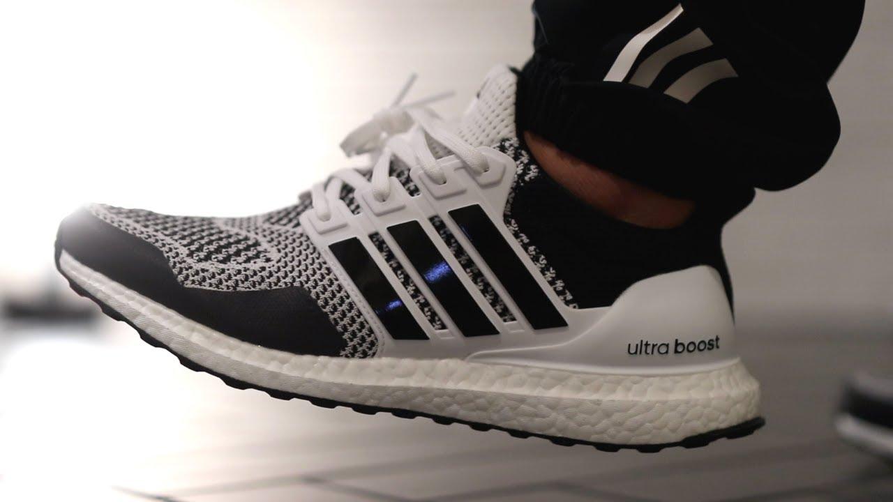 gastos generales fatiga Lingüística  NEW adidas ULTRABOOST 1.0 DNA Reflective Oreo is NICE! Review + On Feet -  YouTube