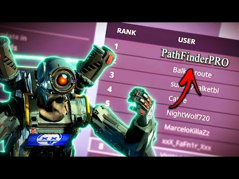 What The Rank 1 PATHFINDER Player Looks Like...!! - Apex Legends Funny Epic Moments #18