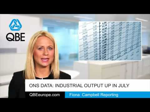 ONS data: Industrial output up in July