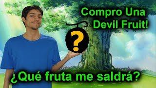 Compro mi primera Devil Fruit! | Roblox: steve's one piece