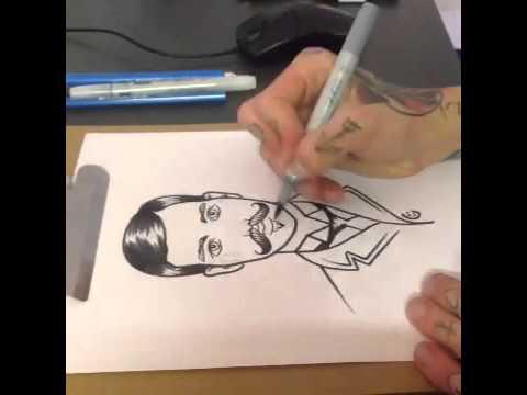 Tattoovorlage Zeichnen Youtube