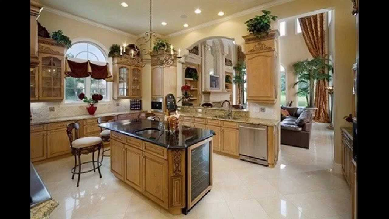 Creative Above kitchen cabinets decor ideas - YouTube