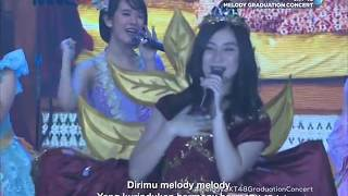 [HD] JKT48 - Kimi wa Melody @ Melody Graduation Concert (TV Ver.) 180513