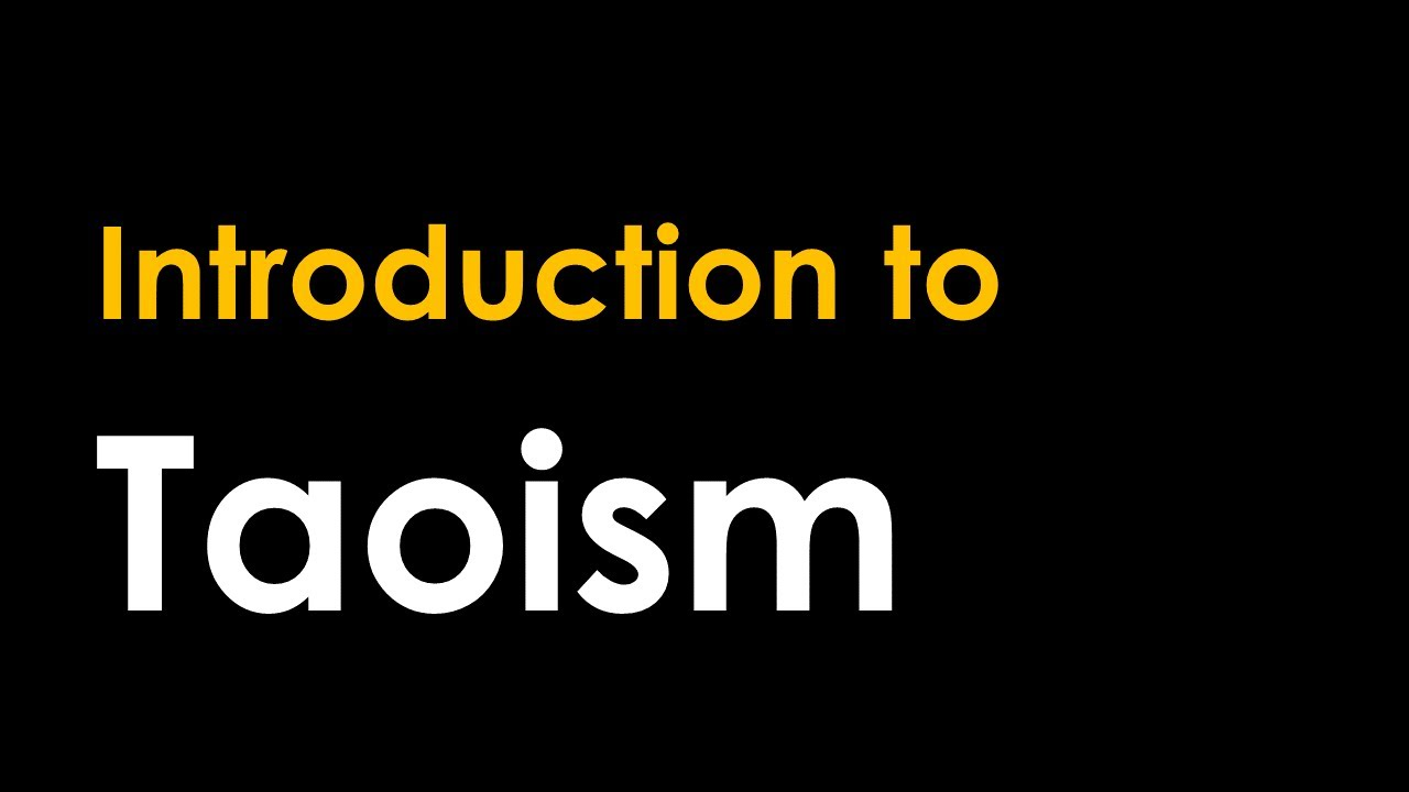 Introduction to Taoism
