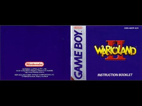 wario land ii game manual gb instruction booklet youtube rh youtube com wario land 3 instruction manual wario land 4 instruction booklet