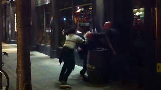 Street Fight - Temple Bar Dublin