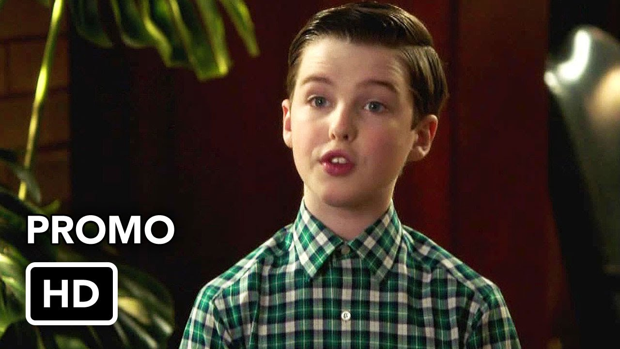 """Download Young Sheldon 4x09 Promo """"Crappy Frozen Ice Cream and an Organ Grinder's Monkey"""" (HD)"""