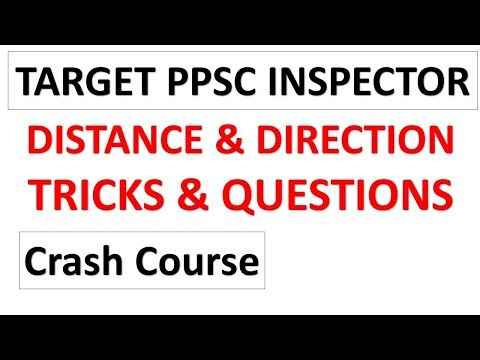 PPSC Inspector Target Crash Course --Distance and Direction