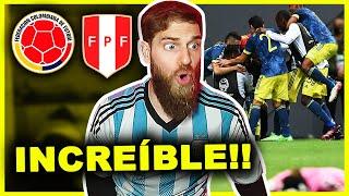 🥉 COLOMBIA vs PERÚ [3-2] 🔥 REACCIÓN Hincha Argentino