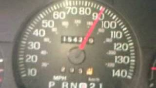 2003 Crown Vic  Top Out  0 -130 Mph