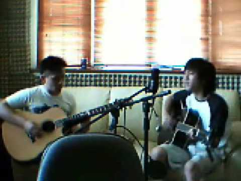 Tears don't fall (acoustic) Bullet for my Valentine cover