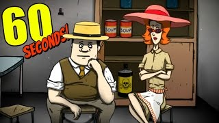 Video 60 Seconds - ONLY TED & DOLORES CHALLENGE - Let's Play 60 Seconds! Gameplay download MP3, 3GP, MP4, WEBM, AVI, FLV Maret 2018