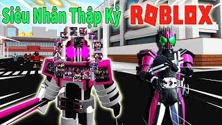 Roblox - Trở Thành Hiệp Sĩ Mặt Nạ Decade Tiêu Diệt Tất Cả Rider - Masked Rider Revolution